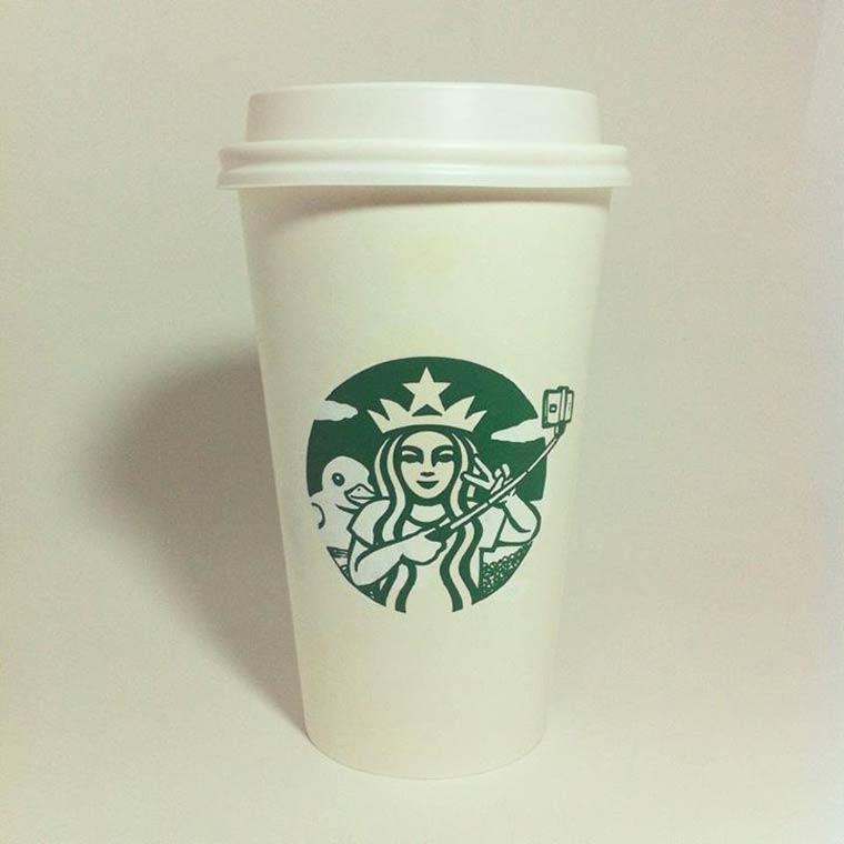 StarbucksSelfie