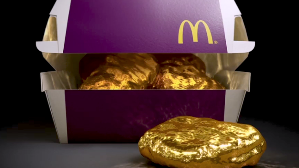 McDonald's Japan – Going For The Gold